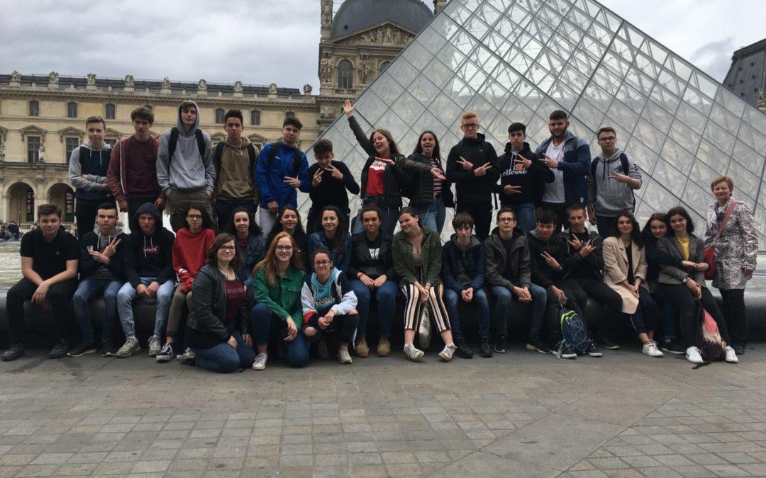 Voyage pédagogique à Paris pour les trois classes de 2DE générales et technologiques