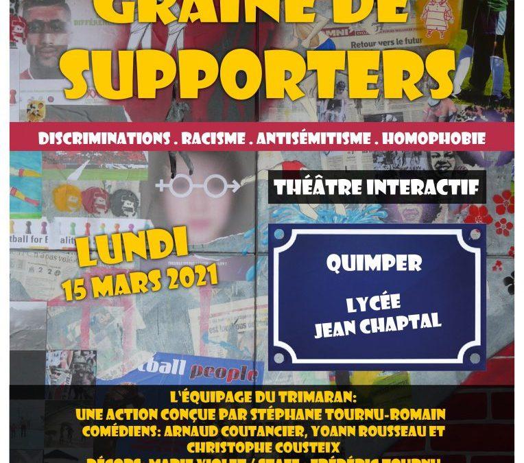 Graines de supporters, spectacle contre la violence, les incivilités, les discriminations dans le sport